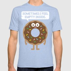 It's Not All Rainbow Sprinkles... Mens Fitted Tee Tri-Blue SMALL