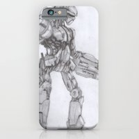 Robot Warrior iPhone 6 Slim Case