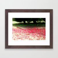 Colour Under The Tree Framed Art Print