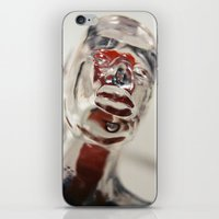 Transparent Thoughts iPhone & iPod Skin