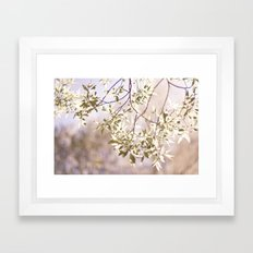 softness Framed Art Print
