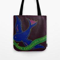 Love Banner Tote Bag