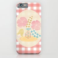 Hexagon floral 4 iPhone 6 Slim Case