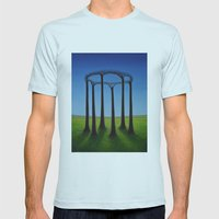 New Order Mens Fitted Tee Light Blue SMALL