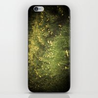 Field Of Yellow Flowers. iPhone & iPod Skin