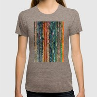 Trunks Of Trees Womens Fitted Tee Tri-Coffee SMALL