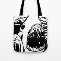 Shark off Tote Bag