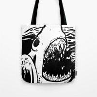 Shark Off Tote Bag