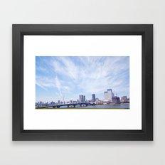 お台場 Framed Art Print