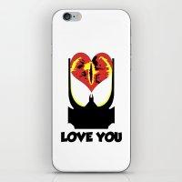 Eye Love You iPhone & iPod Skin