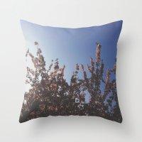 Ever Growing Throw Pillow