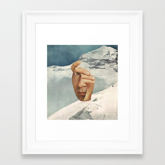 Muh Anne Inn Tha Mount Tan Framed Art Print