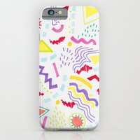 iPhone & iPod Case featuring Pastel Postmodern doodle by Vasare Nar