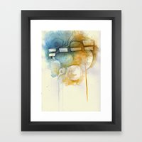 Don't stalk me bro Framed Art Print