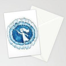 Frozen Girl Plays Yo-Yo Stationery Cards