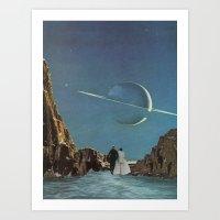 Plateaux Art Print