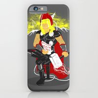 iPhone & iPod Case featuring 'Cuz hair needs care by Liviu Matei