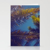 Palm Sky Stationery Cards