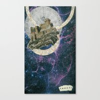 My Home at the End of the Universe Canvas Print