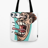 Double Take Right Tote Bag
