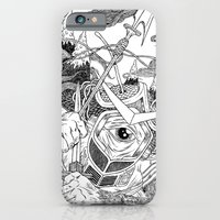 iPhone & iPod Case featuring Cycloptic Samurai by Chris Carfolite
