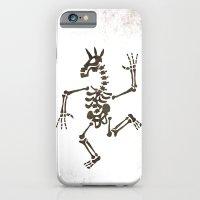 Skeleton Unicorn Dance 2 iPhone 6 Slim Case