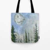 The Endor Morning Sky Tote Bag