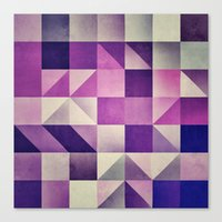 :: Geometric Maze VI :: Canvas Print