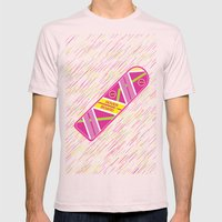 Hoverboard Mens Fitted Tee Light Pink SMALL