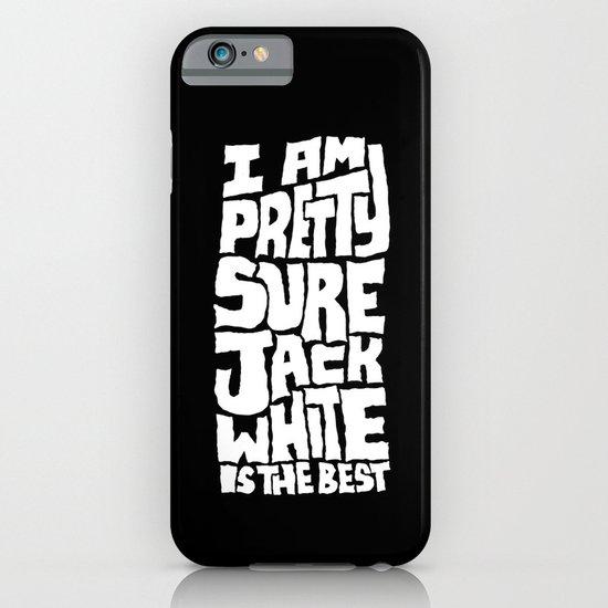 Jack White iPhone & iPod Case