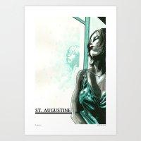 St. Augustine 3 Art Print