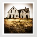 The High Bank House Art Print