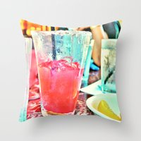 Ice Cold  Goodness Throw Pillow