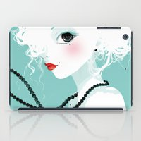 Black Pearls iPad Case