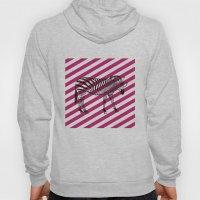 Nerd Zebra (Pink) Hoody