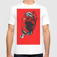 Red Planet Mens Fitted Tee White SMALL