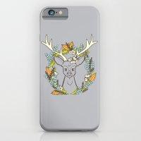 Deer Wreath iPhone 6 Slim Case