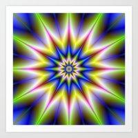 Time Star Art Print