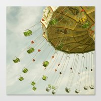 all the fun of the fair ...  Canvas Print