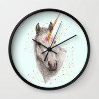 Unicorn V Wall Clock