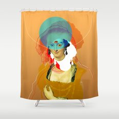 Peter Paul Rubens Pop Portrait Shower Curtain