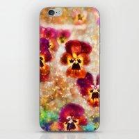 Spring Pansies iPhone & iPod Skin