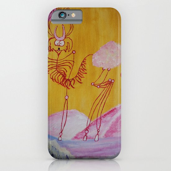 Thin Cartoon Deer iPhone & iPod Case