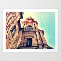 Mexico Cathedral PV Art Print