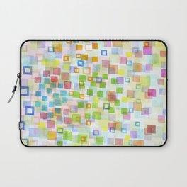 Laptop Sleeve - Raining Squares and Frames - Heidi Capitaine
