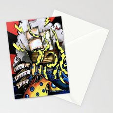 ceplalopod attack squad Stationery Cards