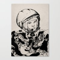 From Gagarin's Point Of … Canvas Print