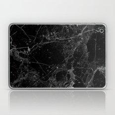 Real Black Marble Laptop & iPad Skin