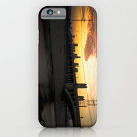 Los Angeles - Downtown Canal Sunset iPhone 6 Slim Case