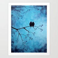 In The Moon Light Art Print